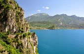 stock photo of lagos  - Lago di Garda - JPG