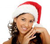 Постер, плакат: Женщина Санта
