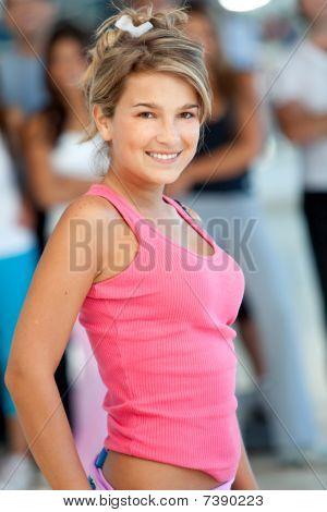 Beautiful Gym Woman