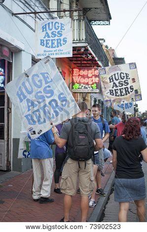Bourbon Street Beers