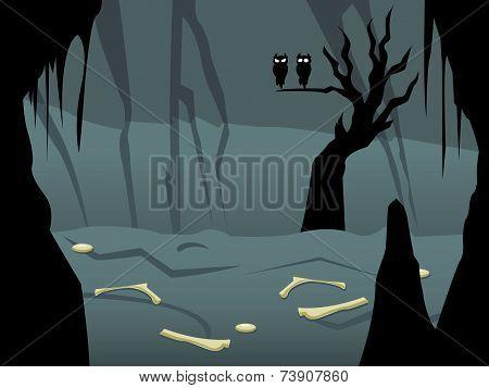 Mystic Wood in The Dark