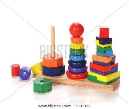 Triple Stacking Toy