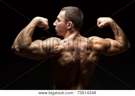 Ideal Beautiful Back Muscles In Men.