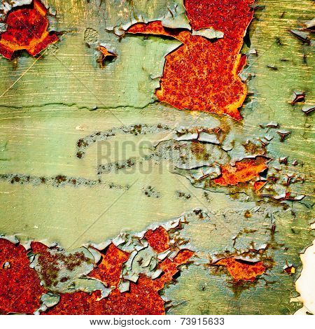 Grunge Background. Old Paint Texture.