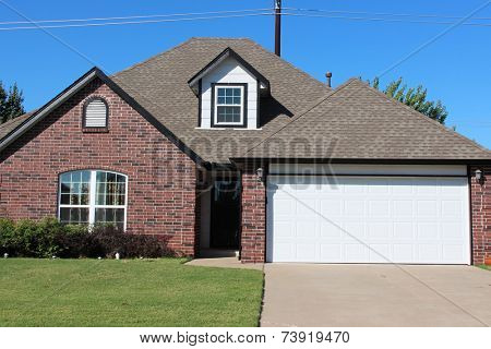Single family house in America