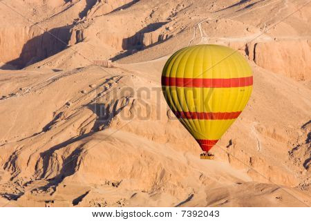 Hot Air Balloon In Egypt