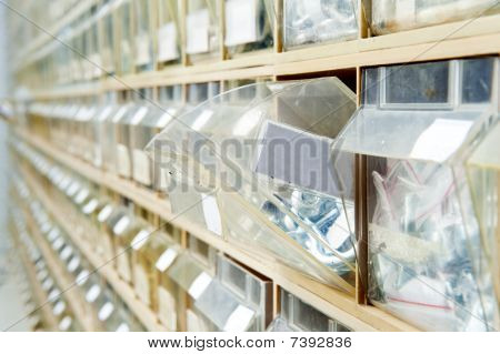 Hardware Store Shelves