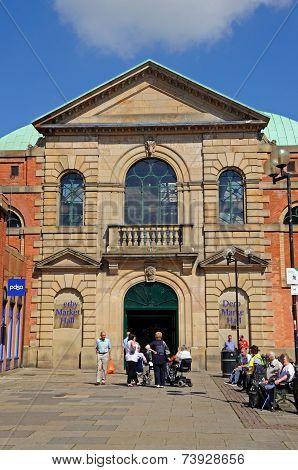 Victorian Market Hall, Derby.