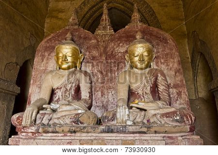 Buddhas In Bagan