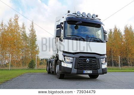 White Renault T480 Truck Tractor