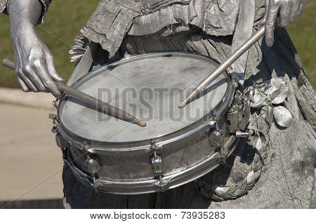 Silver Drummer