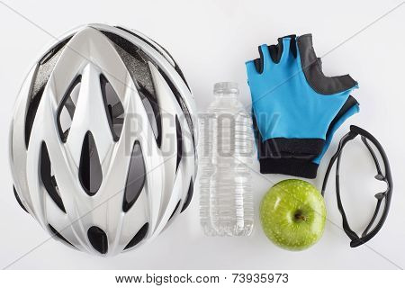 Items For A Safe Cycling And A Healthy Diet