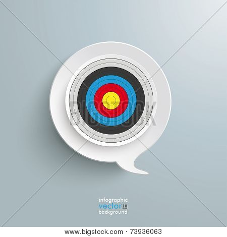 Speech Bubble Target