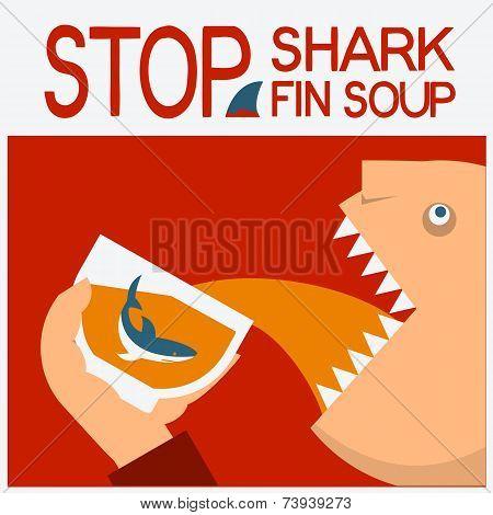 Stop Shark Fin Soup.