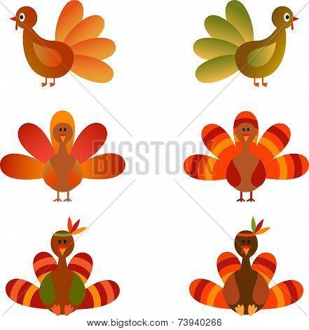 Turkey Vectors