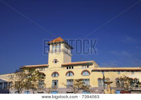 Havana Building Against Blue Sky