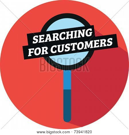 Searching for customers