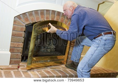 Gas Fireplace Installation