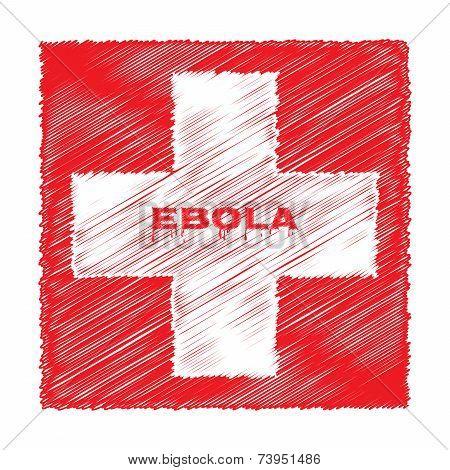 Ebola Virus Red Cross Medicine