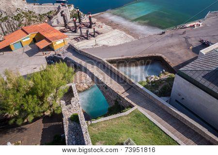 Breakwater in Castro Urdiales