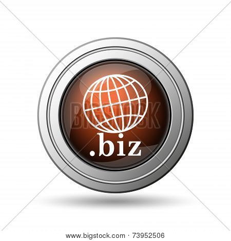 Globe and .biz Icon