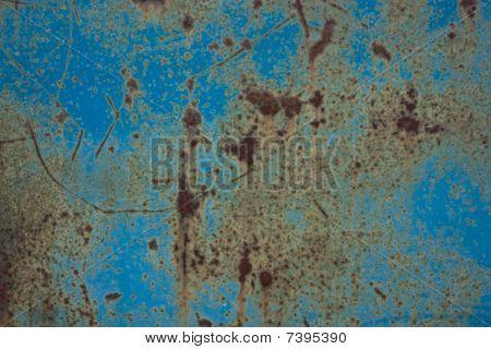 Blue Rust Metal