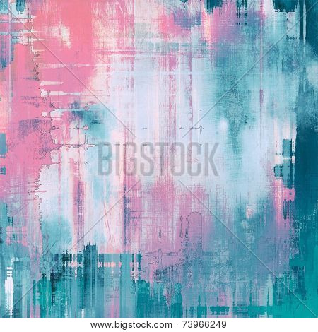 Rough grunge texture. With pink, purple, blue patterns