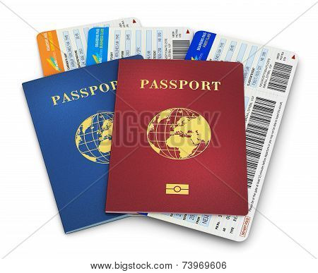 Biometric passports and air tickets
