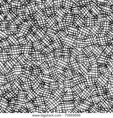 Seamless hatching pattern.