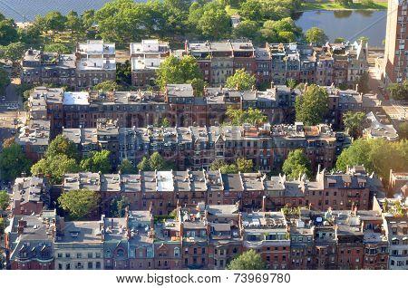 Back Bay apartment in Boston, USA