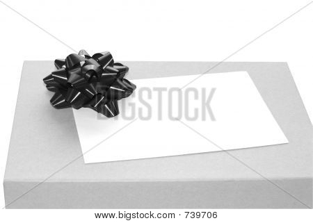 Black and white gift