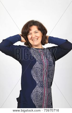 beautiful casual Mature woman