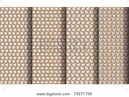 4 Classic leaf pattern