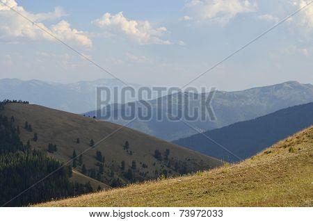 Smoke Covered Hills
