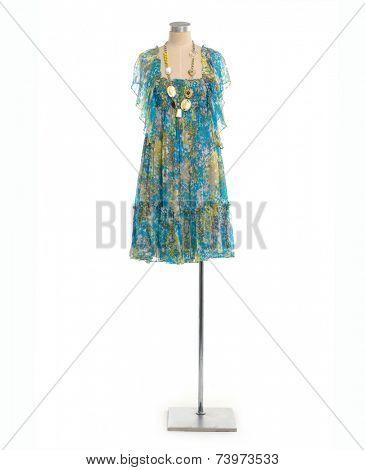 Full length female sundress on mannequin