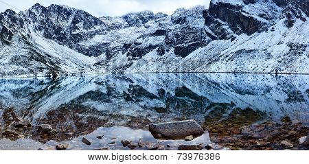 High Tatra Mountains Czarny Staw Gasienicowy (Black Pond)