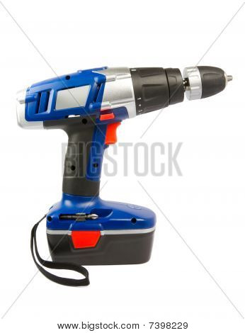 Cordless Hammer Drill, Isolated