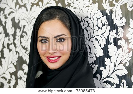 Beautiful Confident Arabian Woman