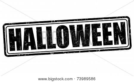 Scary Halloween Discounts Label