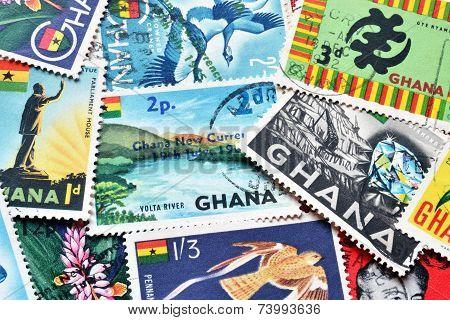 Ghana stamps