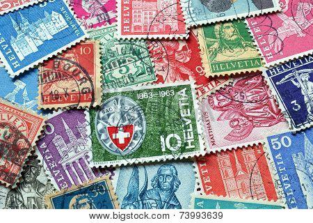 Switzerland stamps