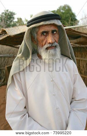 Elderly Arab Man