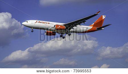 Avianca Aircraft N508AV