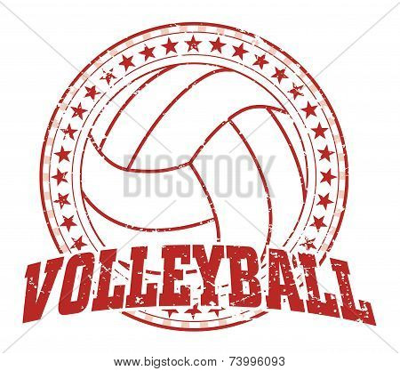 Volleyball Design - Vintage