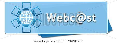 Webcast Globe With Screens