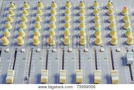 Sound Mixer Panel