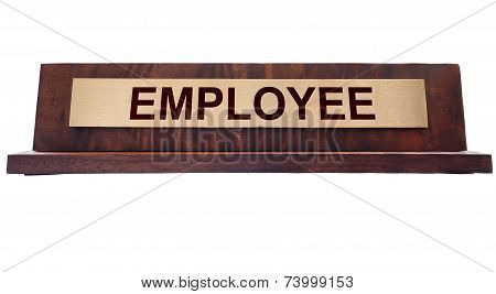 Employee Name Plate
