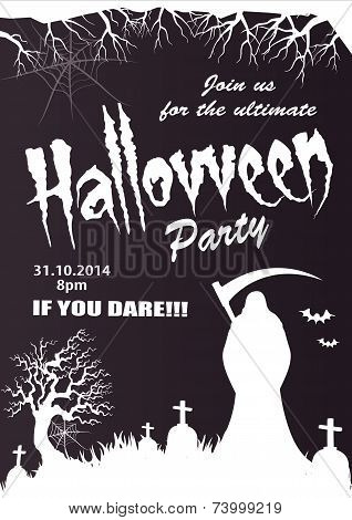 Halloween vector-party illustration-2