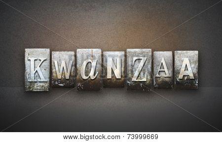Kwanzaa Letterpress