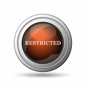 foto of restriction  - Restricted icon - JPG